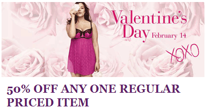 Lane Bryant 50% off coupon