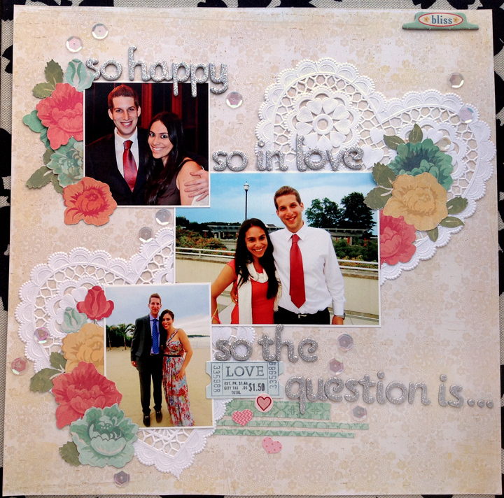 My Analog Life Custom Engagement Scrapbook Getting Hitched In New