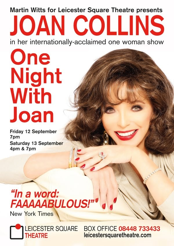 ONE NIGHT WITH JOAN ..SEPTEMBER 2014 ..