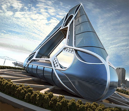 Best futuristic architectures photos futuristic architecture for Concept of space in architecture