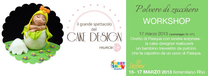 Hobby Show fiera a Milano: corsi di cake design e workshop ...
