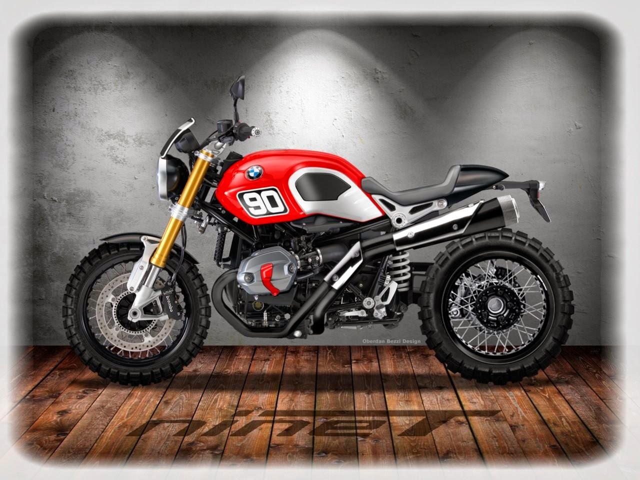 racing caf caf racer concepts bmw r ninet series 3 by oberdan bezzi. Black Bedroom Furniture Sets. Home Design Ideas