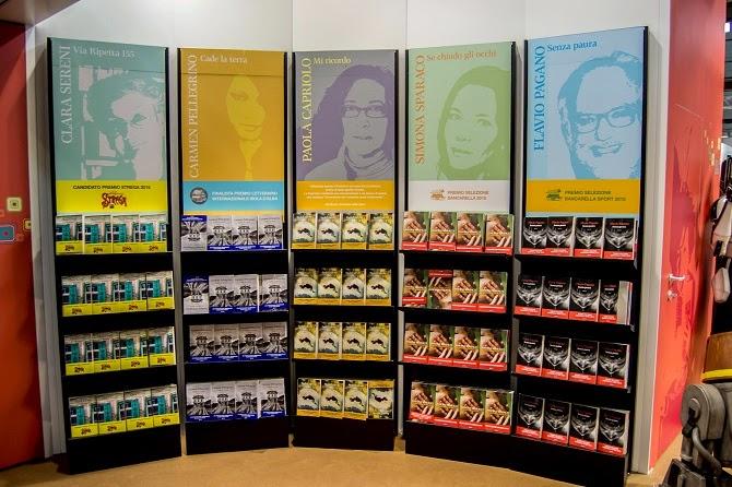 Giunti libri Paola Capriolo Simona Sparaco libreria stand Salone del Libro