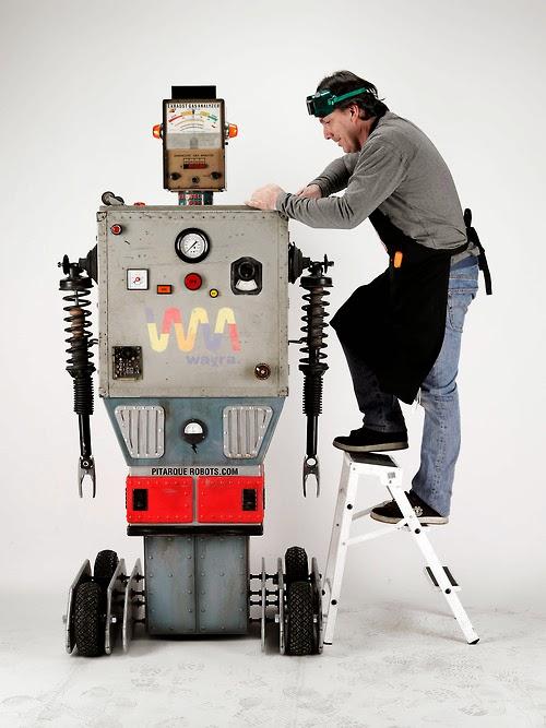Pitarque Robots, recuperando sueños