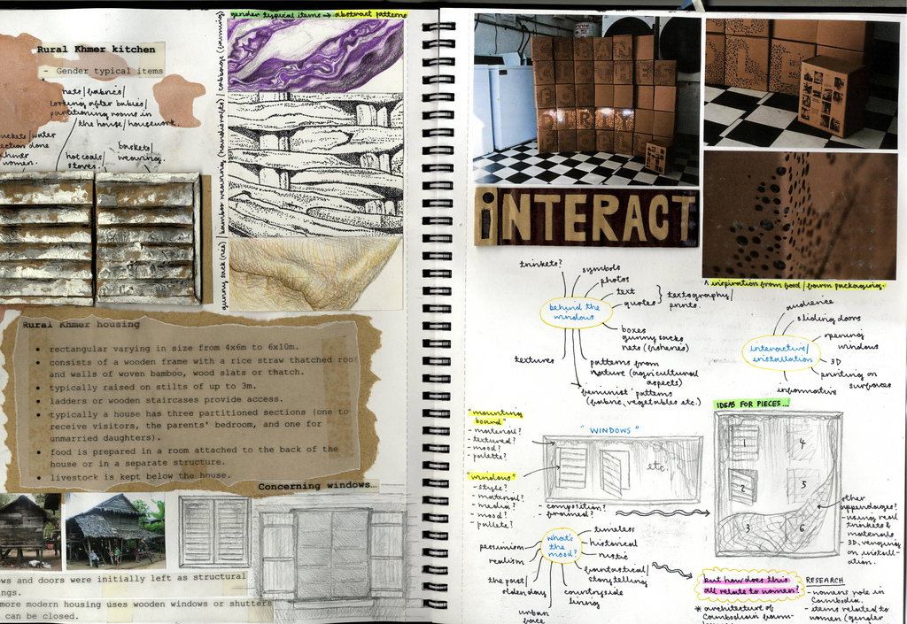 portfolio examples sketchbook ideas and interior design portfolios on