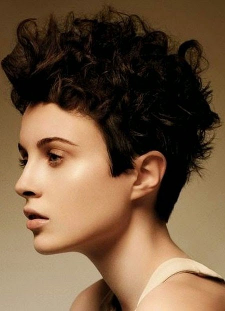 Really Short Curly Hairstyles For Women