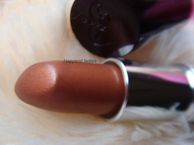 Rimmel London Lasting Finish Lipstick 242 Fudge Brownie+kate moss lipstick