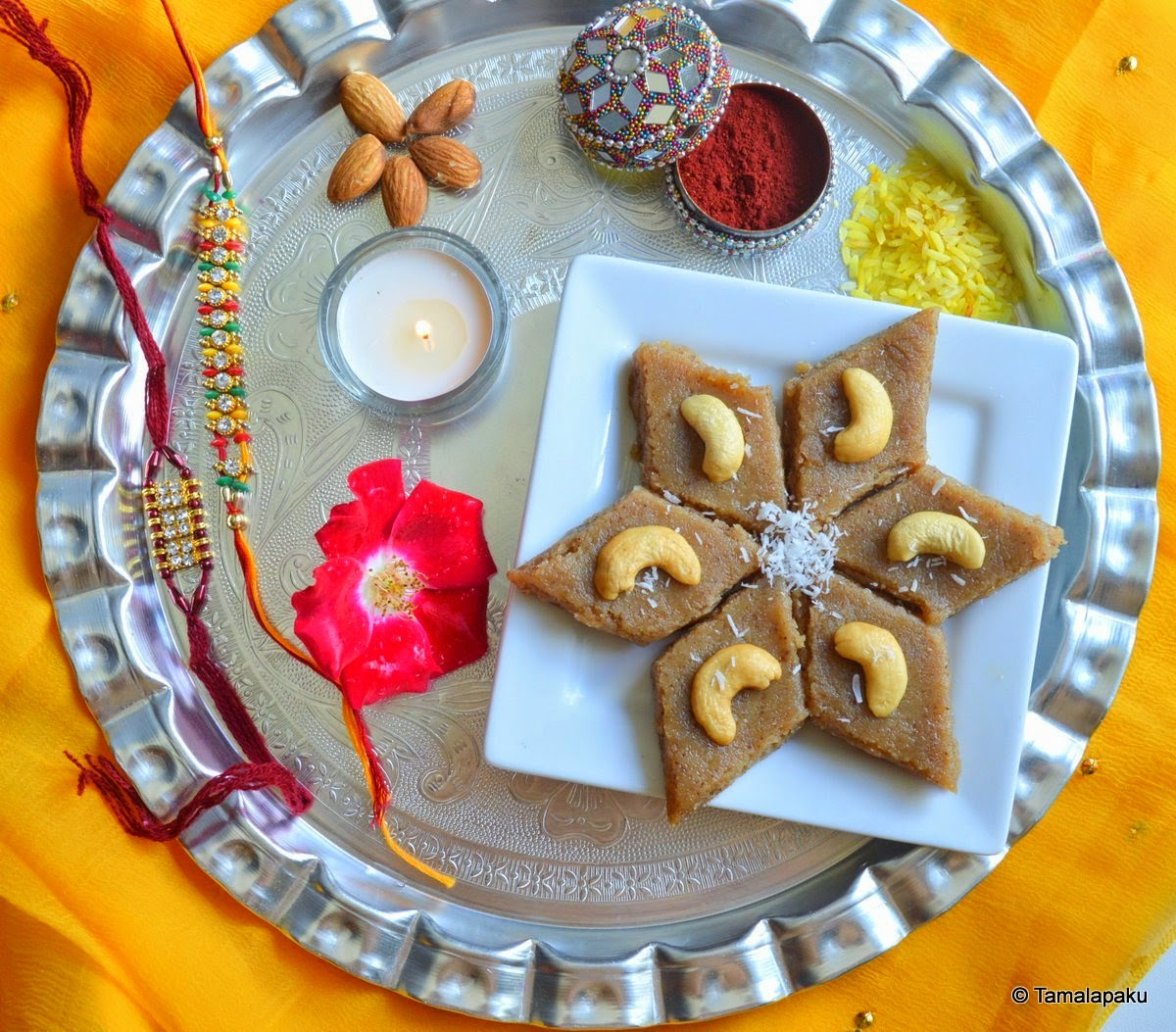 Bread-Coconut Burfi