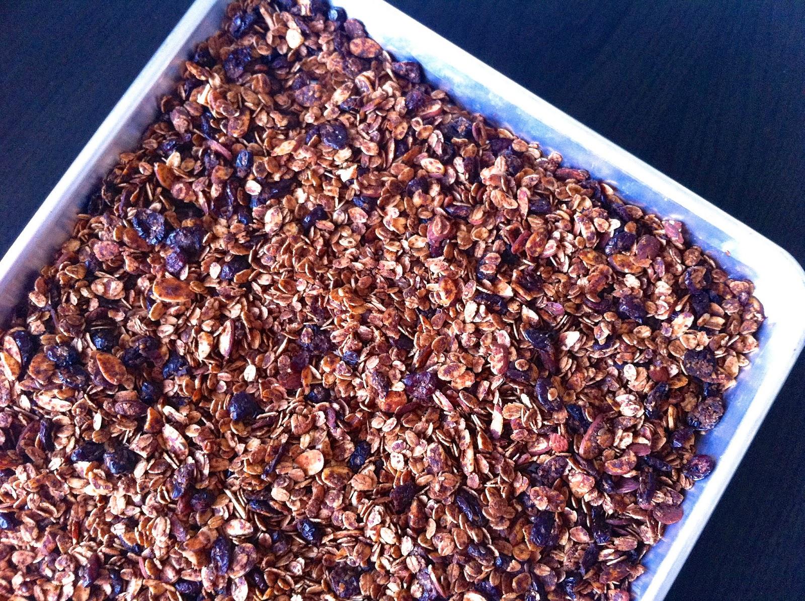 Cinnamon Cranberry Granola, Half