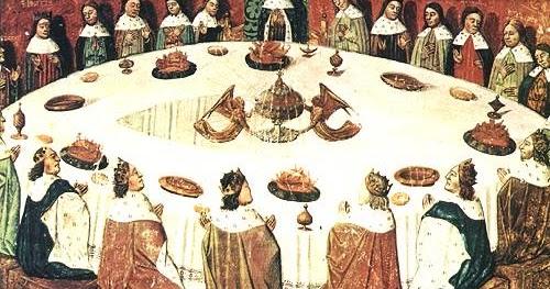 Cemento mori la tavola rotonda di artu 39 come simbolo della lotta alla disgregazione sociale - La tavola rotonda di re artu ...