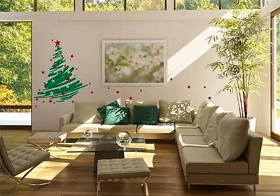 adesivos de Natal para paredes