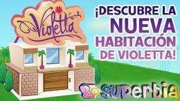 VIOLETTA ¡YA EN DISNEY SUPERBIA!