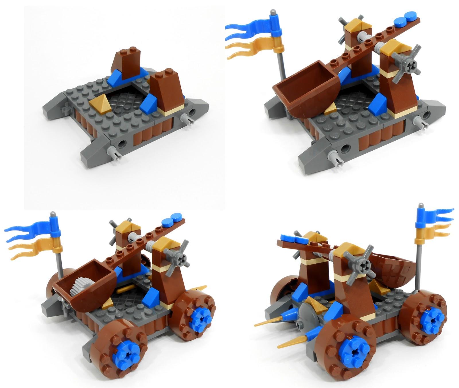 Oz Brick Nation Lego Castle 70403 Dragon Mountain Review