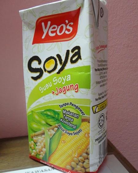 Soya Yeo's: Susu soya + Jagung, platform