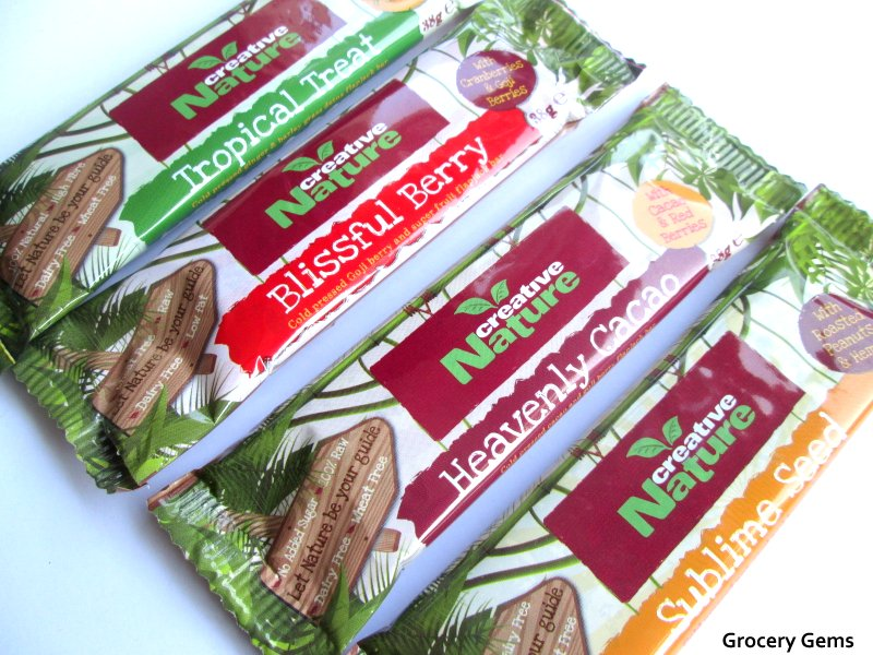 Grocery gems creative nature superfood snack bars for Superfood bar