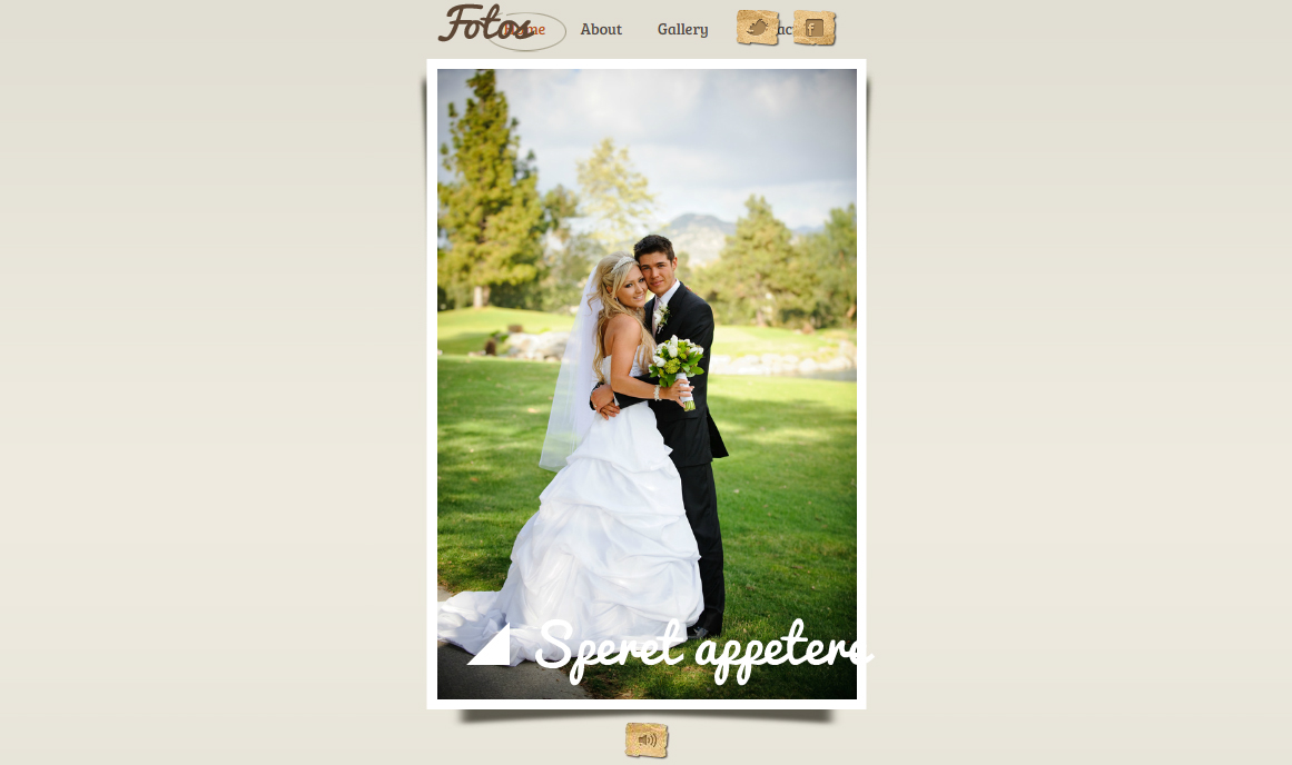 Wedding-Portfolio-Flash-Template
