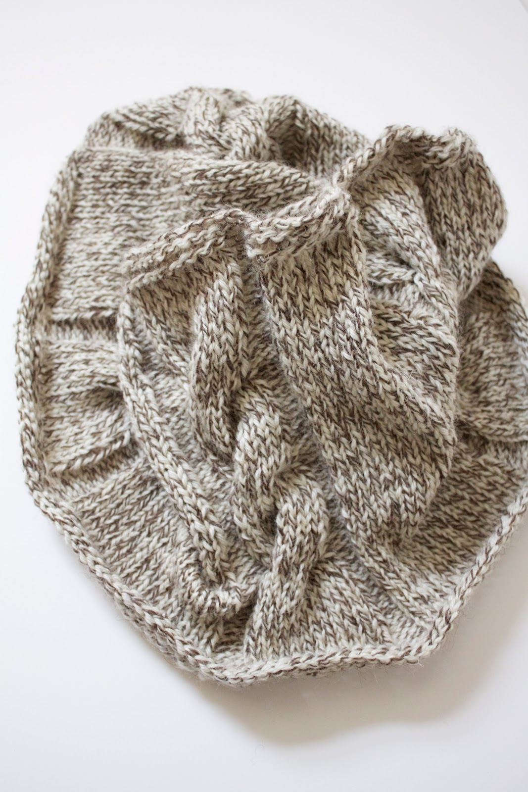 Cabled Cowl Knitting Pattern : Handmade by Meg K: Cabled Cowl [Knitting Pattern]