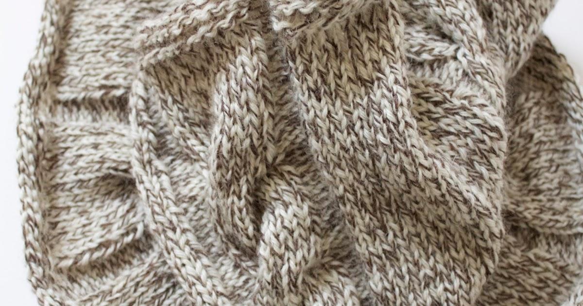 Knitting Pattern Abbreviations M1 : Handmade by Meg K: Cabled Cowl [Knitting Pattern]
