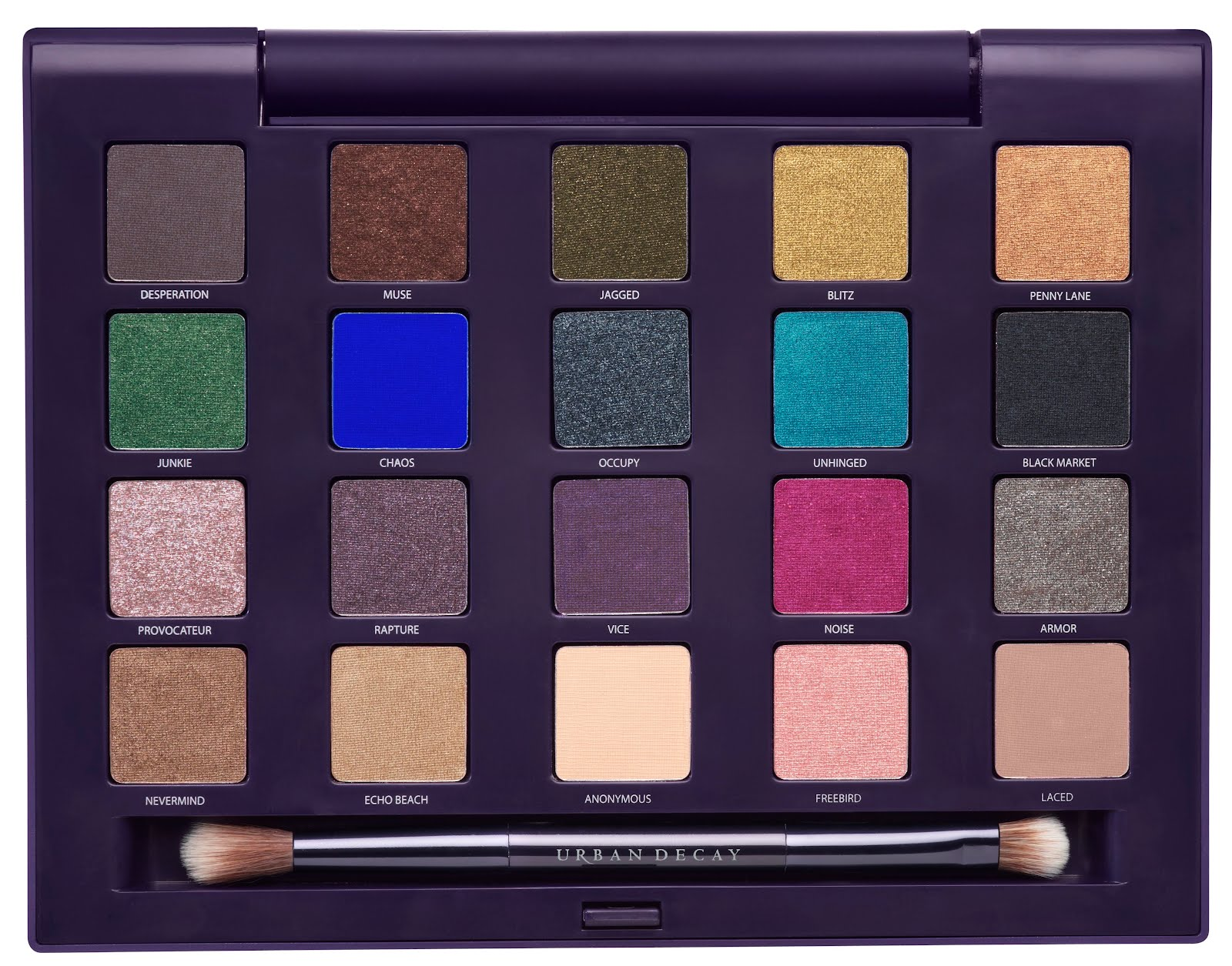 the gallery for gt urban decay ammo palette swatches