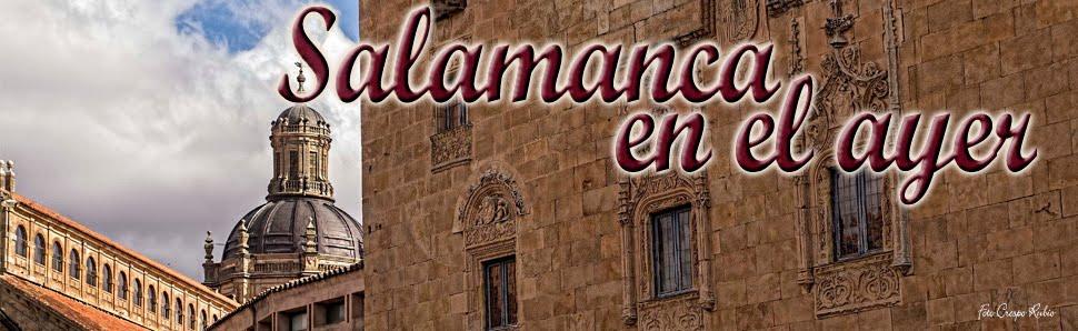 Salamanca en el ayer
