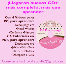 CD Para Aprender Decoupage, con 4 Videos y de REGALO 6 Tutoriales