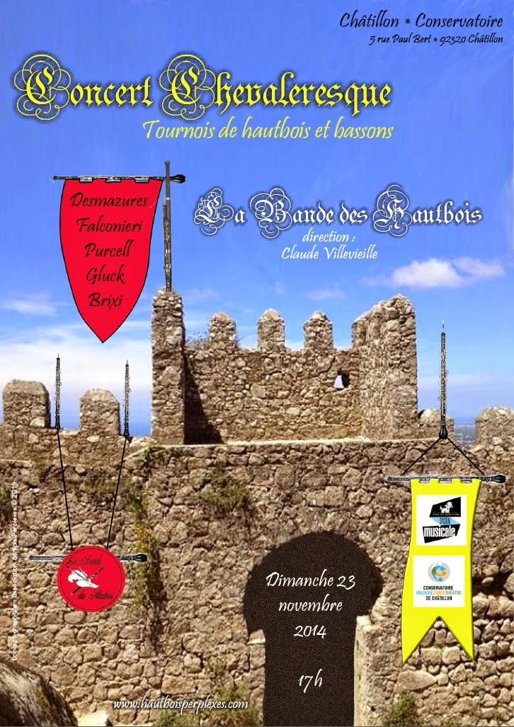 Affiche Concert Chatillon