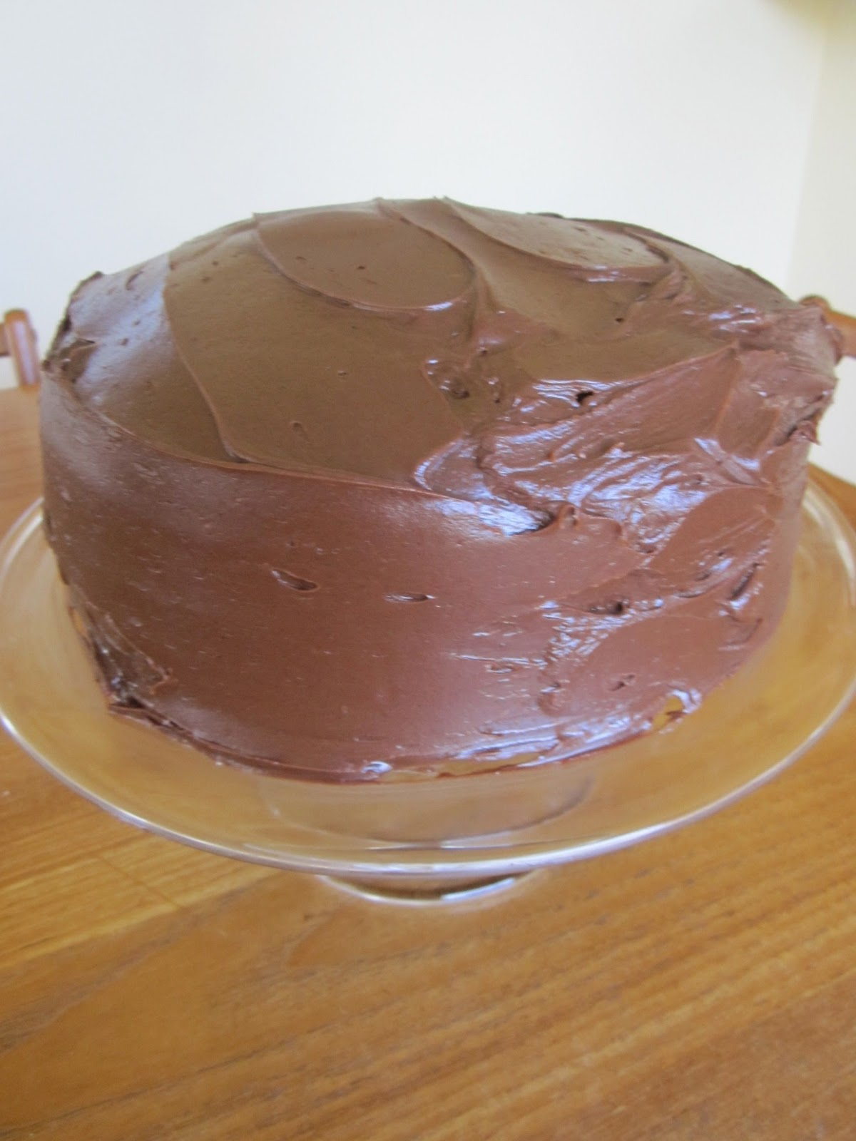... Time Capsule: Chocolate Fudge Cake with Chocolate Fudge Frosting