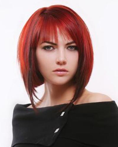 Swell Black And Red Hairstyles Hairstyle Inspiration Daily Dogsangcom
