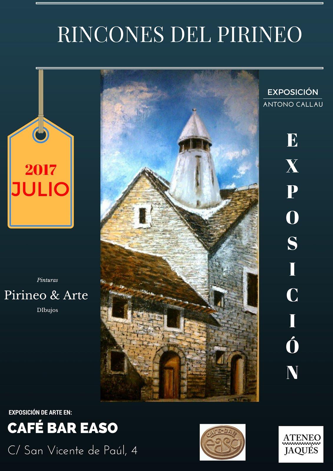 """EXPOSICIÓN: """"RINCONES DEL PIRINEO"""" (ANTONIO CALLAU)"""