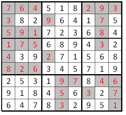 Classic Sudoku (Fun With Sudoku #33) Solution