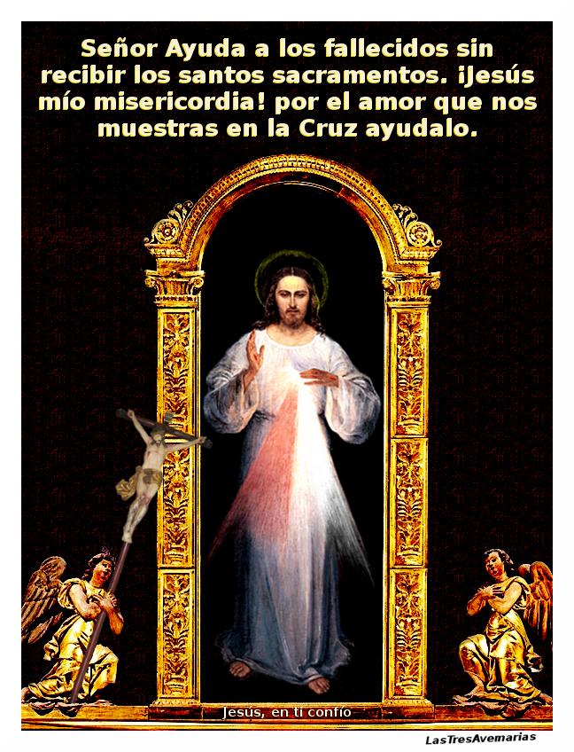 ayuda a salvar almas del purgatorio ofreciendo a jesus oracion