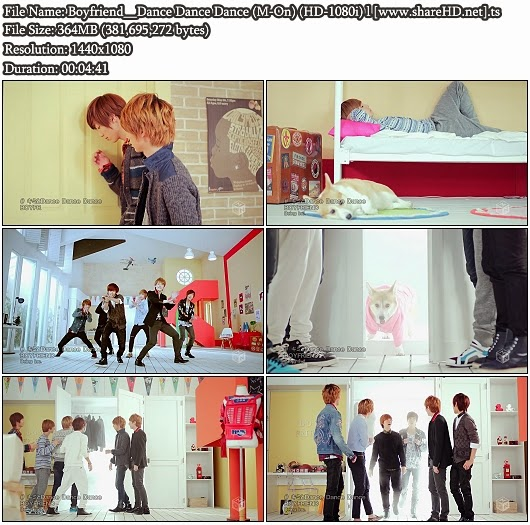 Download PV Boyfriend - Dance Dance Dance (キミとDance Dance Dance) (M-On Full HD 1080i)