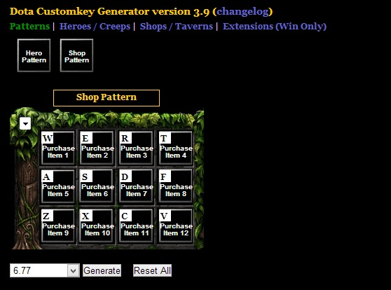 descargar custom keys generator