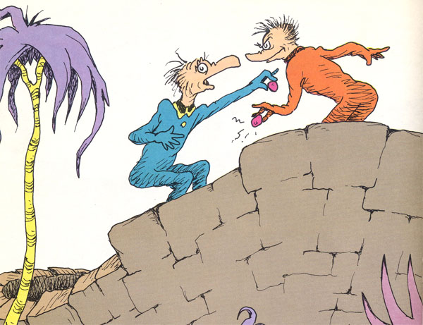 the butter battle book and the Banned books week 2014: dr seuss – banned i  we should be thankful that the adults managed to understand the actual message of the book  the butter battle.