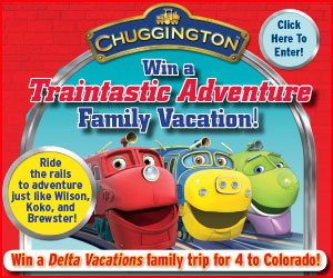 Chuggington vacation sweepstakes