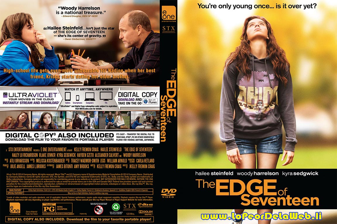The Edge of Seventeen (2016 / Woody Harrelson / Dual+Subt)