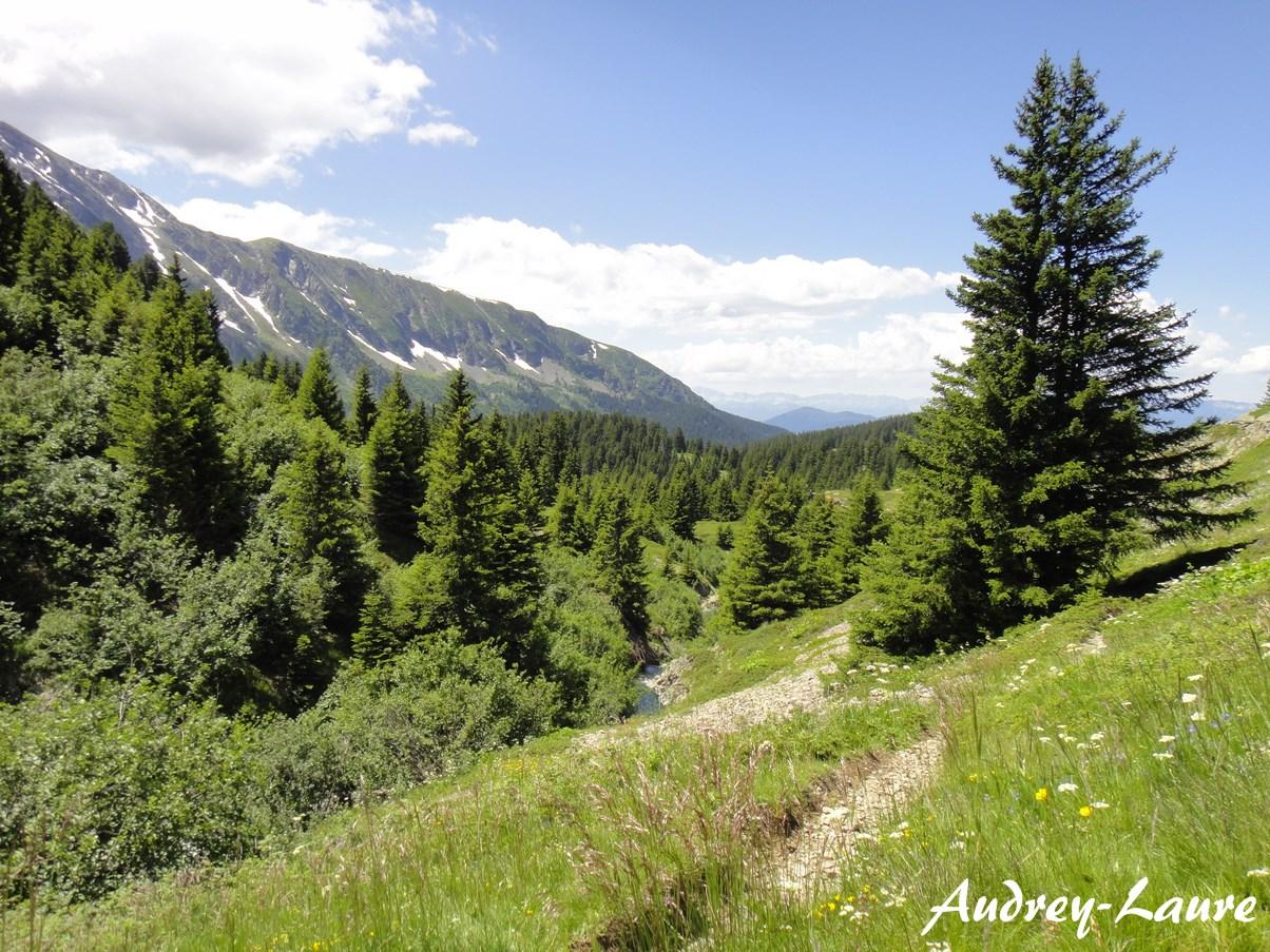 randonnées alpe du grand cerf