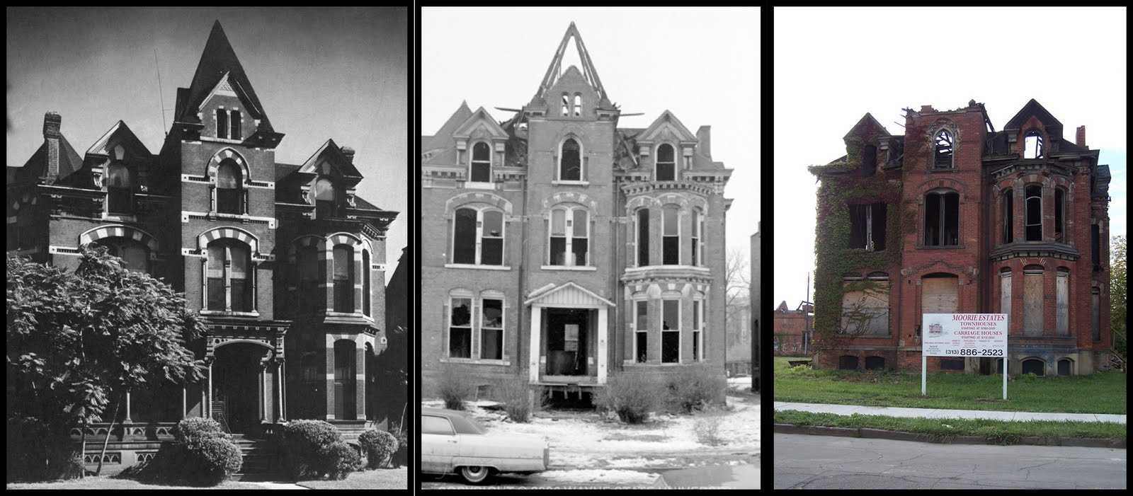 Lost And Found Mansions Of Detroit 1889 Victorian House