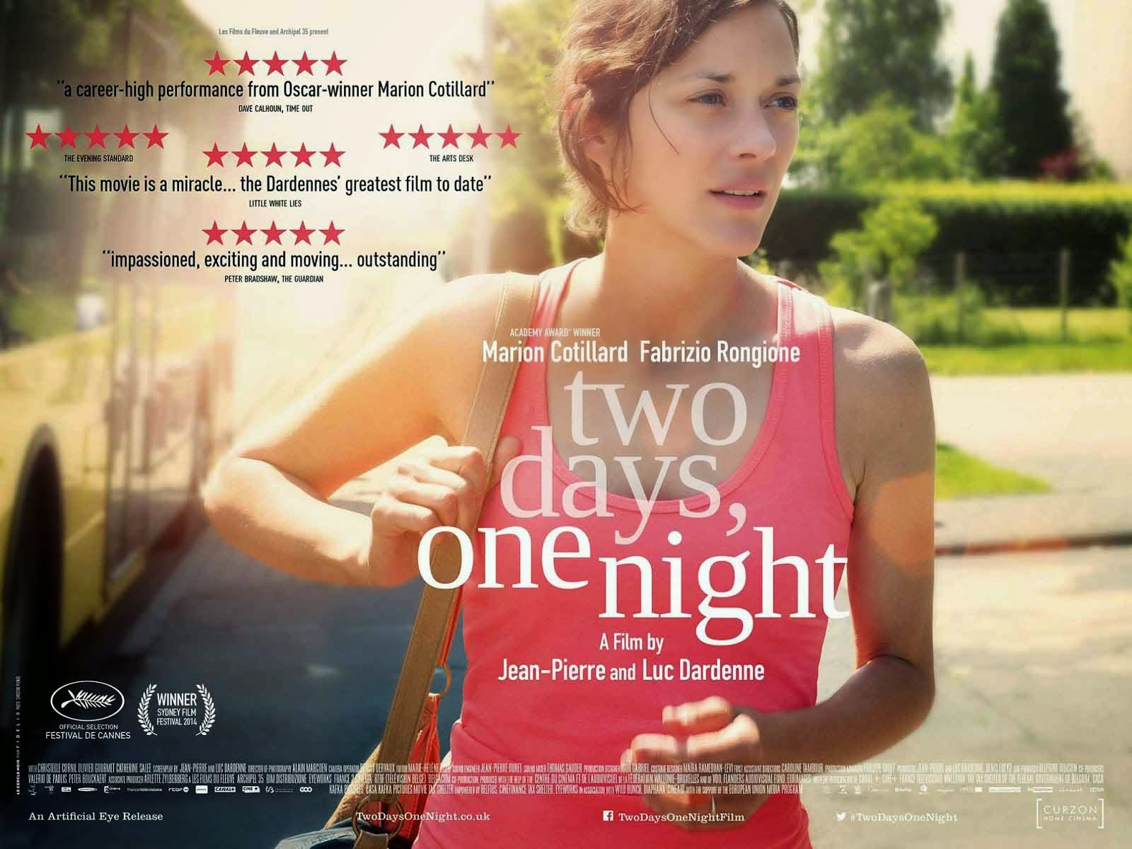 Info review Sinopsis film Two Days, One Night 2014 Bioskop
