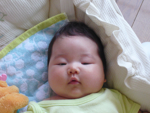asian baby commercial
