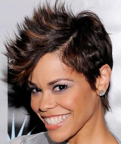 Spikey Hairstyles for Black Women