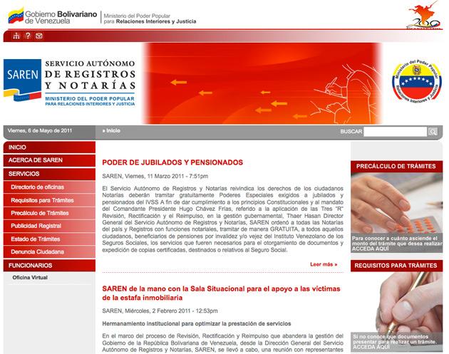 Establecen la estructura organizativa y funcional del saren for Direccion de ministerio de interior y justicia