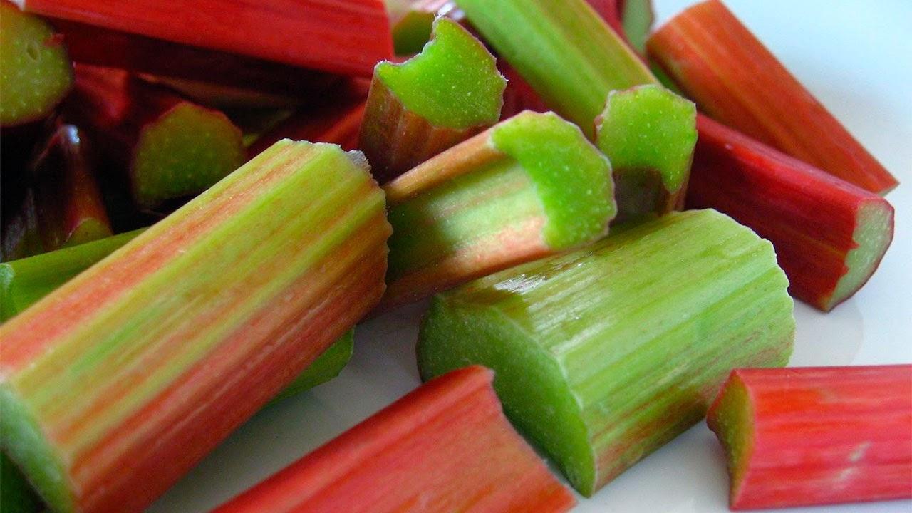 ruibarbo, la unica fruta permitida en la dieta dukan