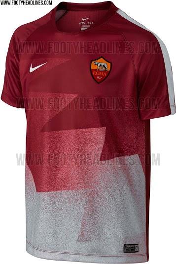 jual online jersey terbaru prematch as roma musim depan 2015/2016 kualitas grade ori made in thailand harga murah. berita bola as roma