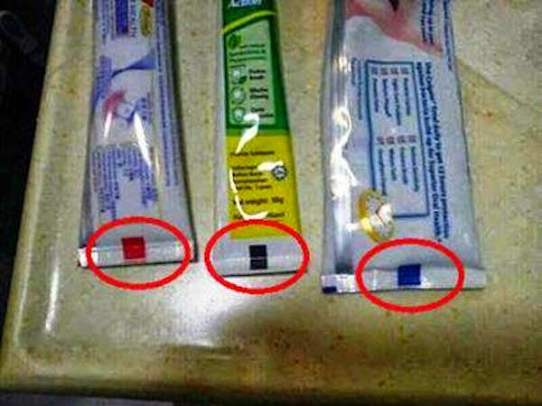The Hidden Secret Behind Toothpaste Bottom Color