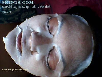 Skin18.com 3 Step Total Facial Mask