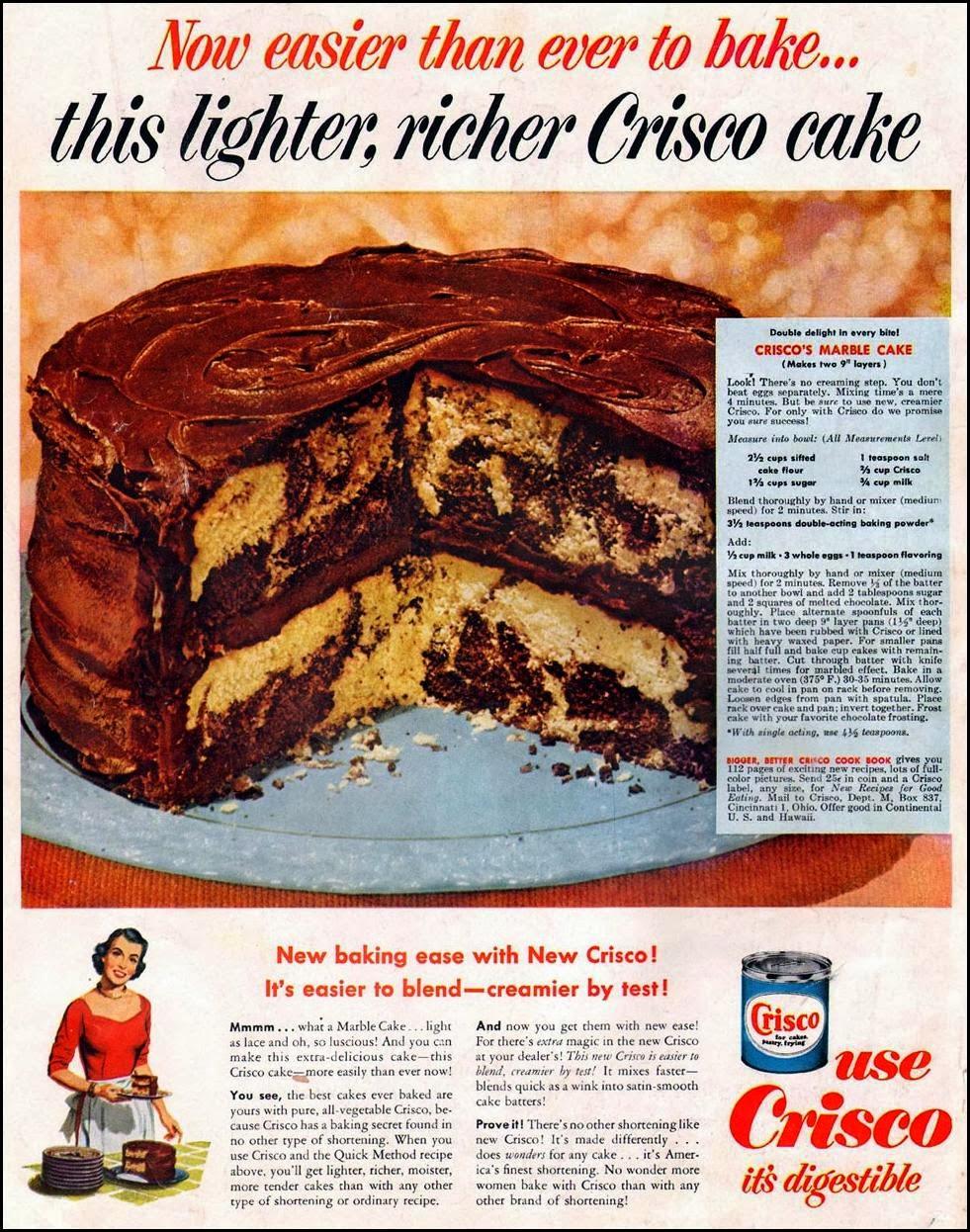 Marble Cake By Joy Of Baking