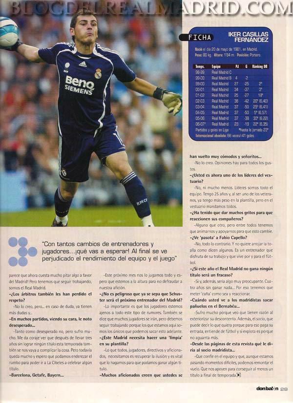 ¿Cuánto mide Iker Casillas? - Estatura real: 1,82 - Real height DB.Febrero07.e