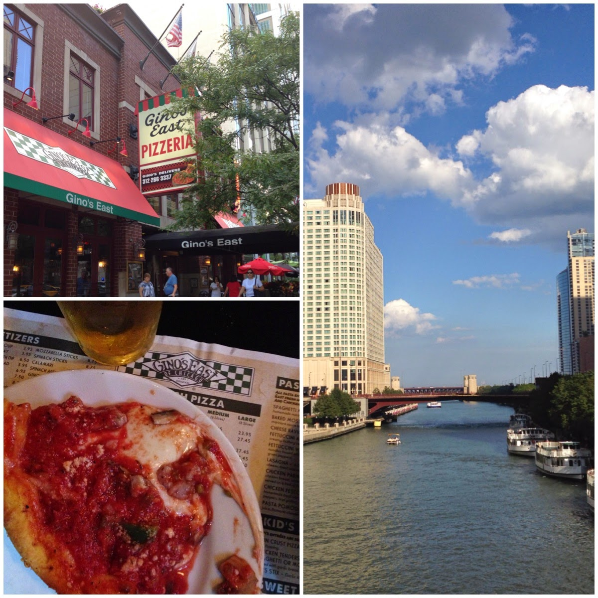 Gino's East Deep Dish Pizza Chicago