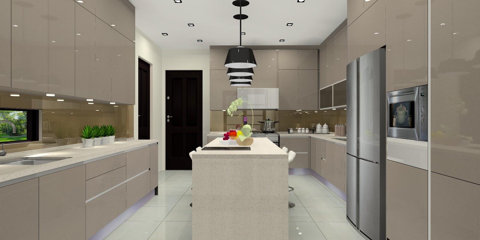 Meridian Interior Design And Kitchen Design In Kuala Lumpur Selangor Malaysia Sleek Linear